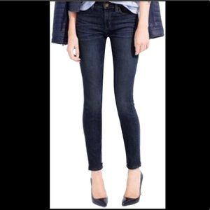 J Crew Women's Toothpick Jeans